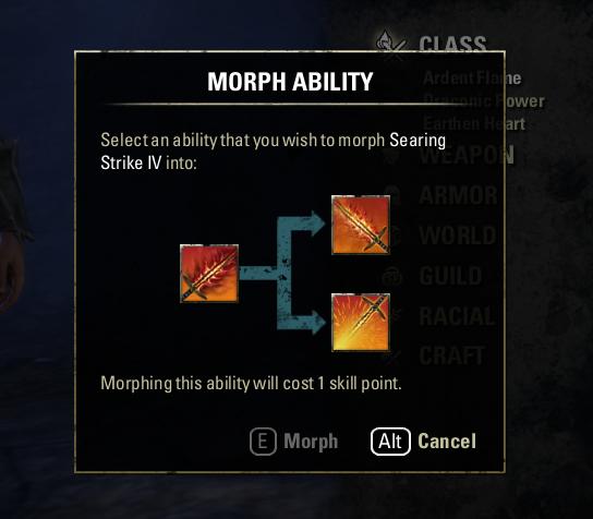 Morph Skill Example